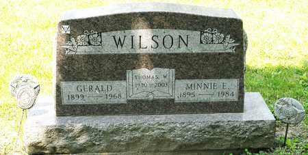 WILSON, THOMAS W - Richland County, Ohio | THOMAS W WILSON - Ohio Gravestone Photos