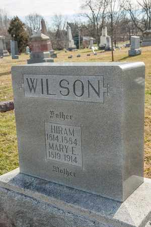 WILSON, HIRAM - Richland County, Ohio | HIRAM WILSON - Ohio Gravestone Photos
