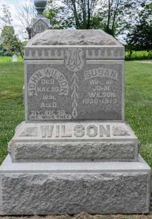 WILSON, SUSAN - Richland County, Ohio | SUSAN WILSON - Ohio Gravestone Photos