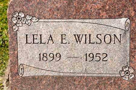 WILSON, LELA E - Richland County, Ohio | LELA E WILSON - Ohio Gravestone Photos