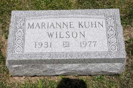 KUHN WILSON, MARIANNE - Richland County, Ohio   MARIANNE KUHN WILSON - Ohio Gravestone Photos