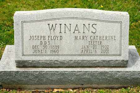 WINANS, MARY CATHERINE - Richland County, Ohio | MARY CATHERINE WINANS - Ohio Gravestone Photos