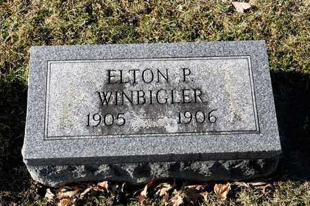 WINBIGLER, ELTON P - Richland County, Ohio   ELTON P WINBIGLER - Ohio Gravestone Photos