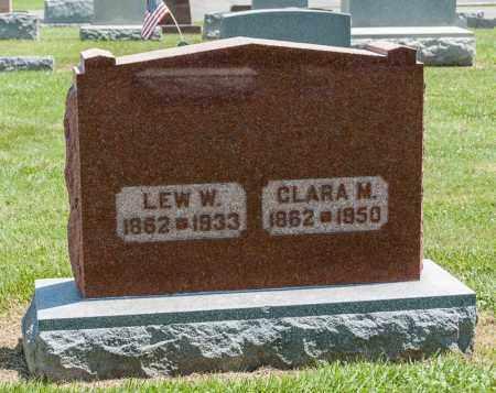 WINBIGLER, LEW W - Richland County, Ohio | LEW W WINBIGLER - Ohio Gravestone Photos