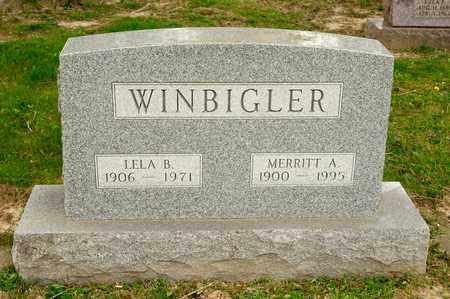 WINBIGLER, LELA B - Richland County, Ohio   LELA B WINBIGLER - Ohio Gravestone Photos