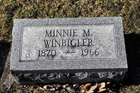 WINBIGLER, MINNIE M - Richland County, Ohio   MINNIE M WINBIGLER - Ohio Gravestone Photos