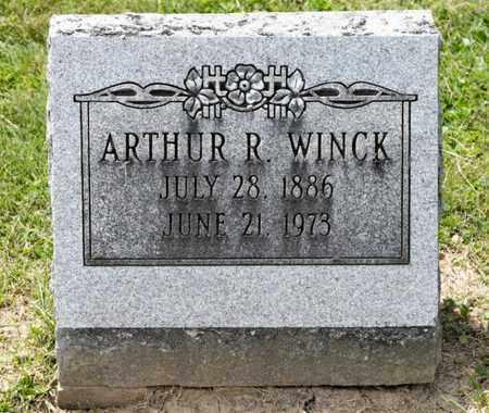WINCK, ARTHUR R - Richland County, Ohio   ARTHUR R WINCK - Ohio Gravestone Photos
