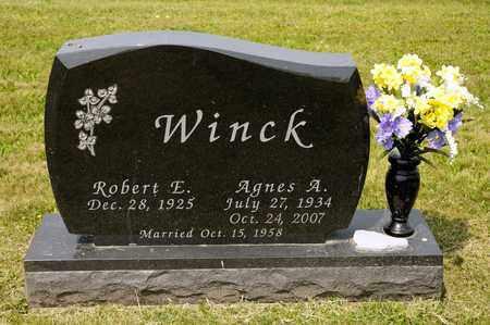 WINCK, AGNES A - Richland County, Ohio | AGNES A WINCK - Ohio Gravestone Photos
