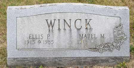 WINCK, ELLIS P - Richland County, Ohio   ELLIS P WINCK - Ohio Gravestone Photos