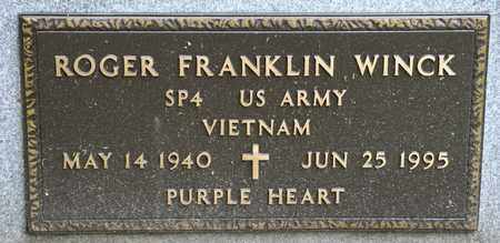 WINCK, ROGER FRANKLIN - Richland County, Ohio | ROGER FRANKLIN WINCK - Ohio Gravestone Photos