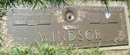 WINDSOR, ROBERT E. - Richland County, Ohio | ROBERT E. WINDSOR - Ohio Gravestone Photos