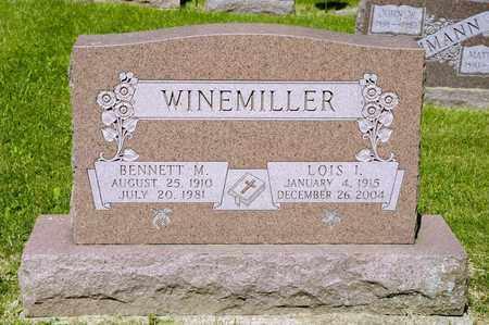 WINEMILLER, LOIS I - Richland County, Ohio | LOIS I WINEMILLER - Ohio Gravestone Photos