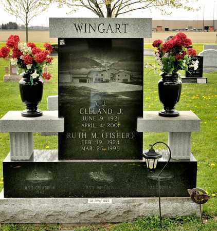 WINGART, CLELAND J - Richland County, Ohio | CLELAND J WINGART - Ohio Gravestone Photos