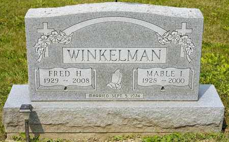 WINKELMAN, FRED H - Richland County, Ohio | FRED H WINKELMAN - Ohio Gravestone Photos
