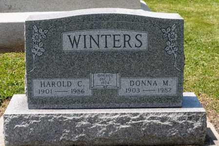 WINTERS, DONNA M - Richland County, Ohio   DONNA M WINTERS - Ohio Gravestone Photos