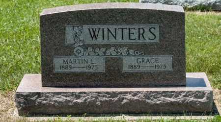 WINTERS, MARTIN L - Richland County, Ohio | MARTIN L WINTERS - Ohio Gravestone Photos