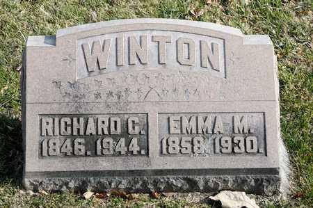 WINTON, RICHARD C - Richland County, Ohio   RICHARD C WINTON - Ohio Gravestone Photos