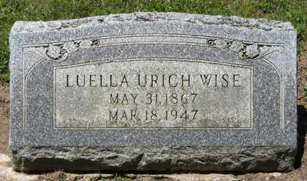 WISE, LUELLA - Richland County, Ohio | LUELLA WISE - Ohio Gravestone Photos