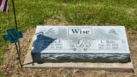 WISE, L DALE - Richland County, Ohio | L DALE WISE - Ohio Gravestone Photos