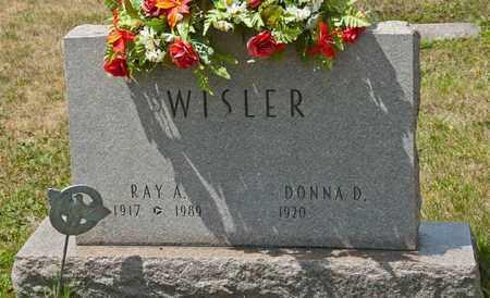 WISLER, RAY A - Richland County, Ohio | RAY A WISLER - Ohio Gravestone Photos