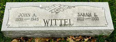 WITTEL, SARAH E - Richland County, Ohio | SARAH E WITTEL - Ohio Gravestone Photos