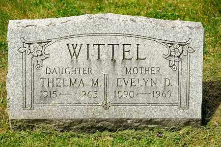 WITTEL, EVELYN D - Richland County, Ohio | EVELYN D WITTEL - Ohio Gravestone Photos