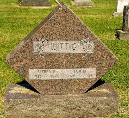 WITTIG, ALFRED E - Richland County, Ohio | ALFRED E WITTIG - Ohio Gravestone Photos