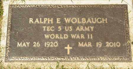 WOLBAUGH, RALPH E - Richland County, Ohio   RALPH E WOLBAUGH - Ohio Gravestone Photos