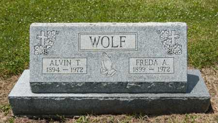 WOLF, FREDA A - Richland County, Ohio | FREDA A WOLF - Ohio Gravestone Photos
