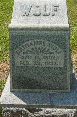 WOLF, CATHARINE - Richland County, Ohio   CATHARINE WOLF - Ohio Gravestone Photos