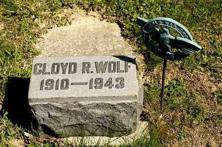 WOLF, CLOYD R - Richland County, Ohio | CLOYD R WOLF - Ohio Gravestone Photos
