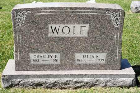WOLF, CHARLEY E - Richland County, Ohio | CHARLEY E WOLF - Ohio Gravestone Photos