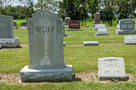 WOLF, ELMER - Richland County, Ohio   ELMER WOLF - Ohio Gravestone Photos