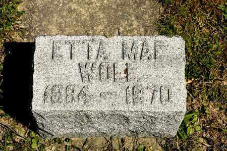 WOLF, ETTA MAE - Richland County, Ohio | ETTA MAE WOLF - Ohio Gravestone Photos