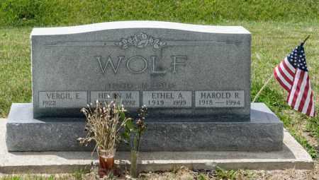 WOLF, HELEN M - Richland County, Ohio | HELEN M WOLF - Ohio Gravestone Photos