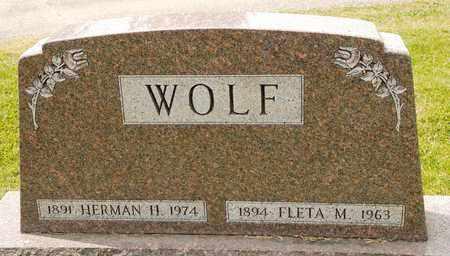 WOLF, HERMAN H - Richland County, Ohio | HERMAN H WOLF - Ohio Gravestone Photos