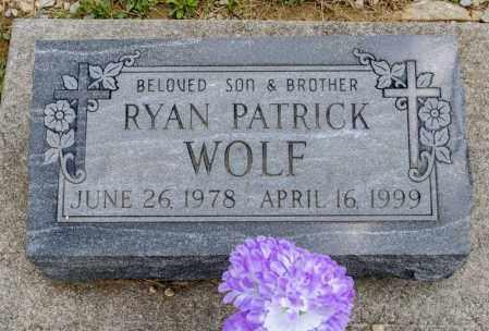 WOLF, RYAN PATRICK - Richland County, Ohio   RYAN PATRICK WOLF - Ohio Gravestone Photos