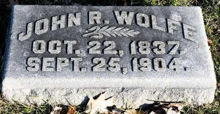 WOLFE, JOHN R - Richland County, Ohio | JOHN R WOLFE - Ohio Gravestone Photos