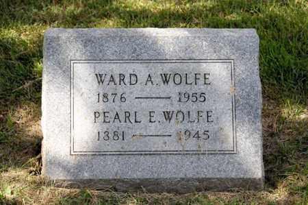 WOLFE, PEARL E - Richland County, Ohio | PEARL E WOLFE - Ohio Gravestone Photos
