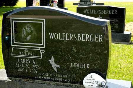 WOLFERSBERGER, LARRY A - Richland County, Ohio | LARRY A WOLFERSBERGER - Ohio Gravestone Photos