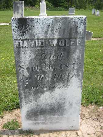 WOLFF, DAVID - Richland County, Ohio   DAVID WOLFF - Ohio Gravestone Photos