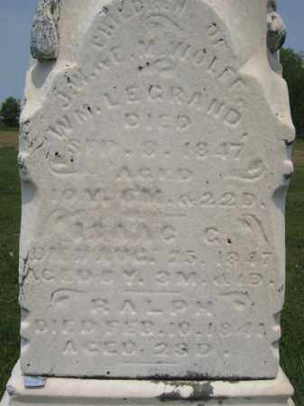 WOLFF, WM LEGRAND - Richland County, Ohio | WM LEGRAND WOLFF - Ohio Gravestone Photos