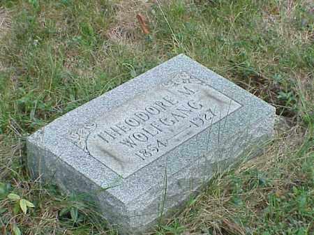 WOLFGANG, THEODORE M. - Richland County, Ohio   THEODORE M. WOLFGANG - Ohio Gravestone Photos