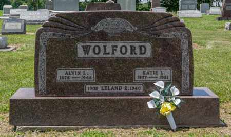 WOLFORD, KATIE L - Richland County, Ohio | KATIE L WOLFORD - Ohio Gravestone Photos