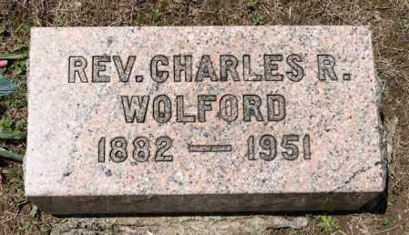 WOLFORD, CHARLES R - Richland County, Ohio   CHARLES R WOLFORD - Ohio Gravestone Photos
