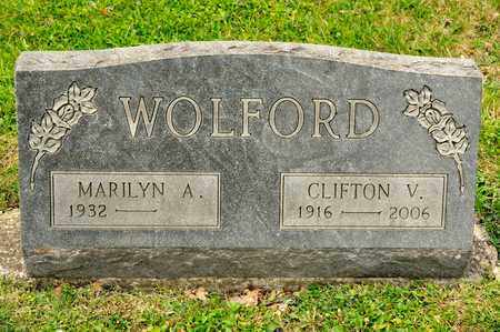 WOLFORD, CLIFTON V - Richland County, Ohio | CLIFTON V WOLFORD - Ohio Gravestone Photos