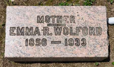 WOLFORD, EMMA R - Richland County, Ohio | EMMA R WOLFORD - Ohio Gravestone Photos