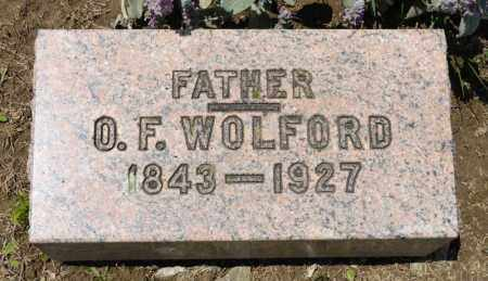 WOLFORD, O F - Richland County, Ohio   O F WOLFORD - Ohio Gravestone Photos