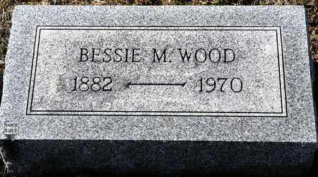 WOOD, BESSIE M - Richland County, Ohio | BESSIE M WOOD - Ohio Gravestone Photos