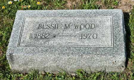 WOOD, BESSIE M - Richland County, Ohio | BESSIE M WOOD - Ohio Gravestone Photos